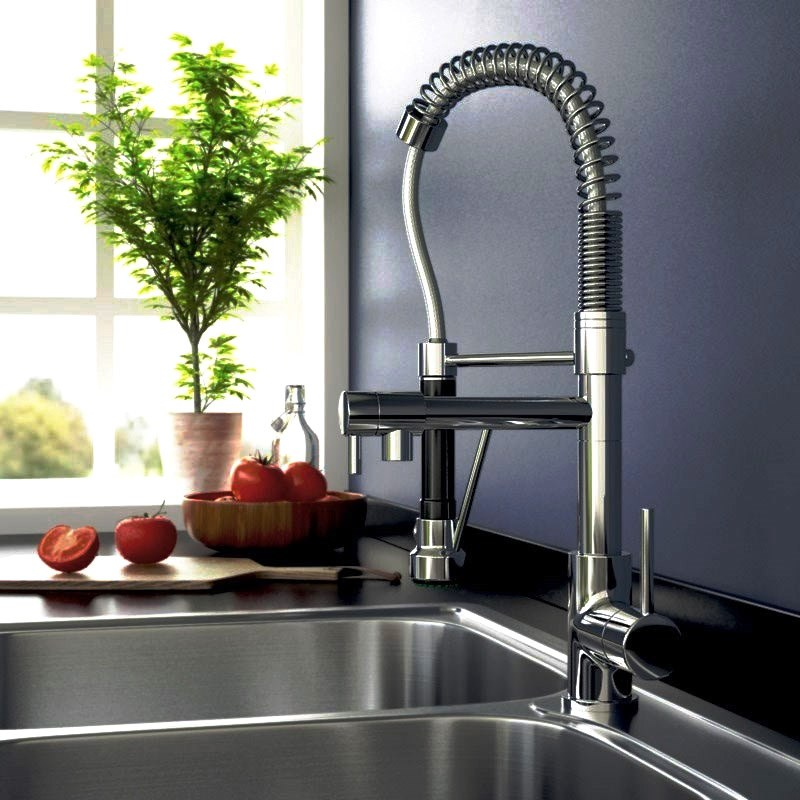 Professional style Baby Hanbury Pull Out Kitchen Tap