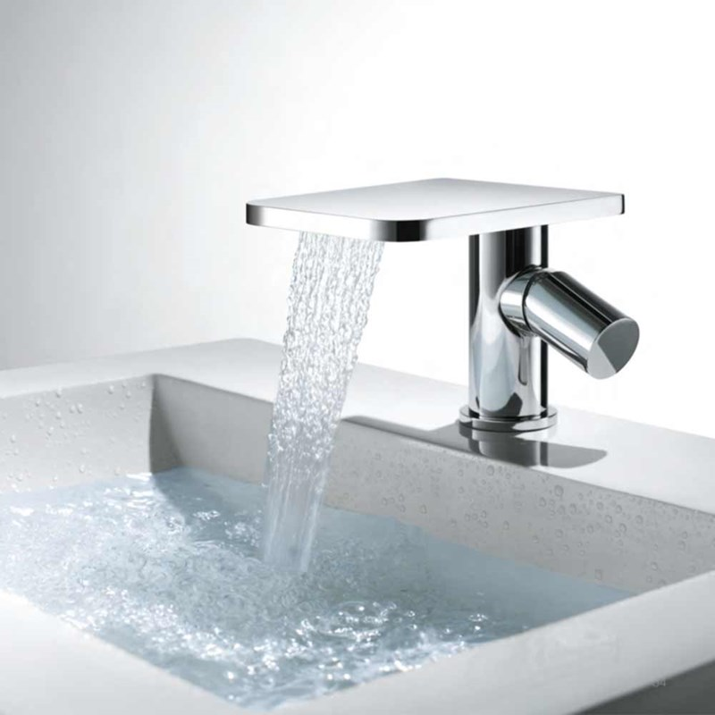 Flova Annecy waterfall mono basin mixer