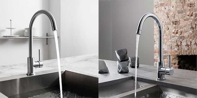 Crosswater Cucina Tropic Side Lever Mono Kitchen Mixer Tap