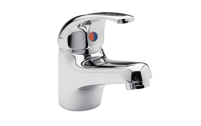 Vellamo Echo Basin Mixer with Clicker Waste
