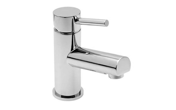 Vellamo Twist Basin Mixer with Clicker Waste