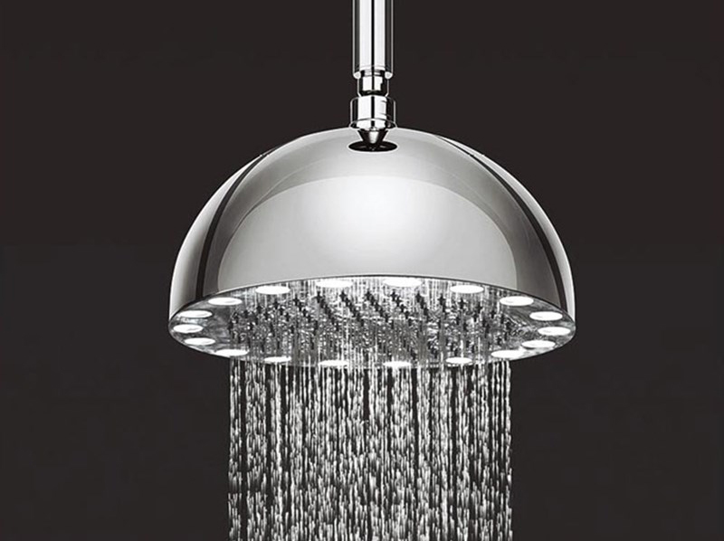 Crosswater Dynamo LED Overhead Fixed Shower Head