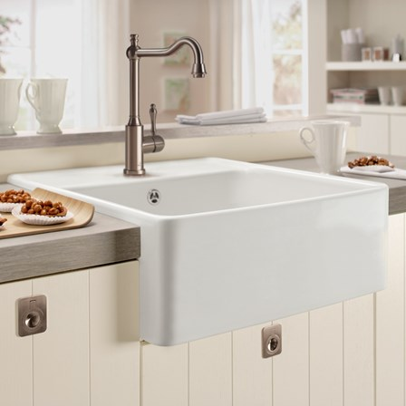 A single bowl butler belfast kitchen sink