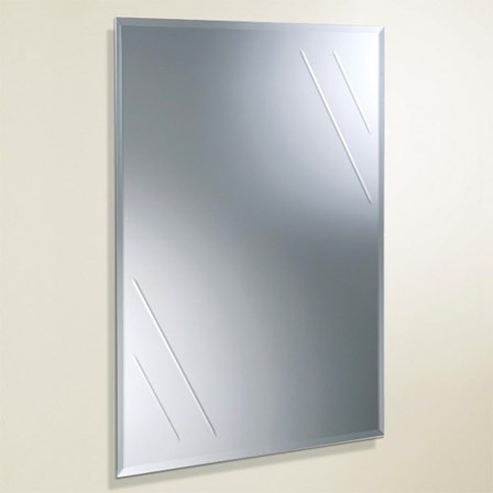 A stunningly cheap mirror with a cut design