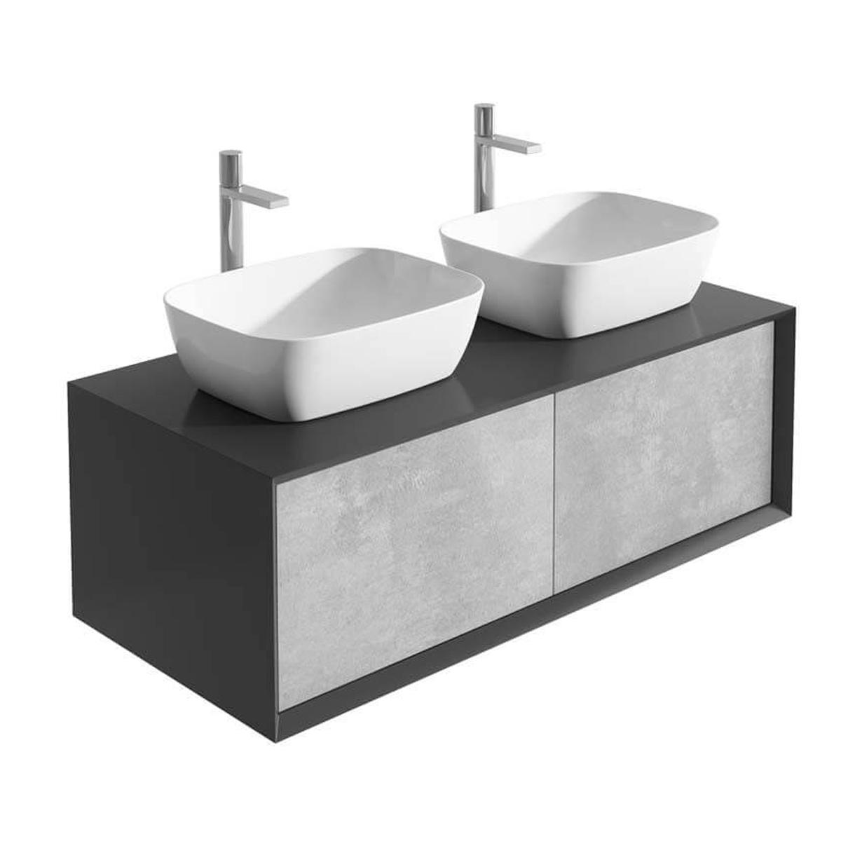 Bath Wall Mounted Large 1200mm Bathroom Mirror With Shelf Dark Light White Oak Modern Home Furniture Diy Sheengenie Com