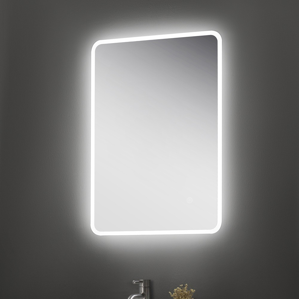 led touch e mirrors mirror od vertical and dk button english x silvered bathroom in with