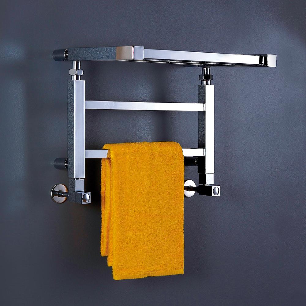 Phoenix Adam Chrome Designer Heated Towel Rail Radiator Bathroom Accessory