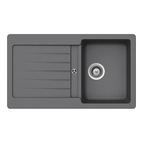 Schock Typos D-100 U Undermount Sink Cristalite nero