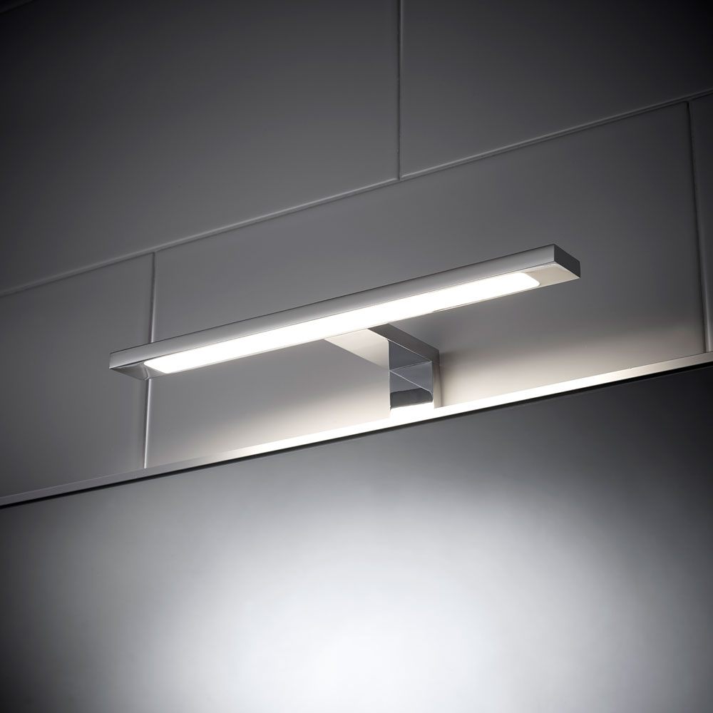 Led Light Bathroom Over Mirror T Bar Sensio Neptune Cabinet Cupboard Downlight