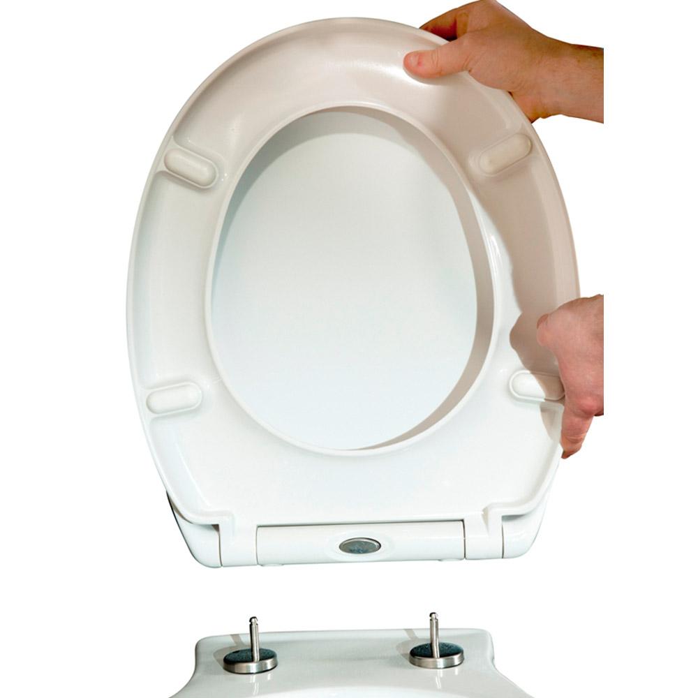 Top Fixing Wooden Toilet Seat. Toilet Seats Soft Close Wooden Tap Warehouse Top fixing wooden toilet seat