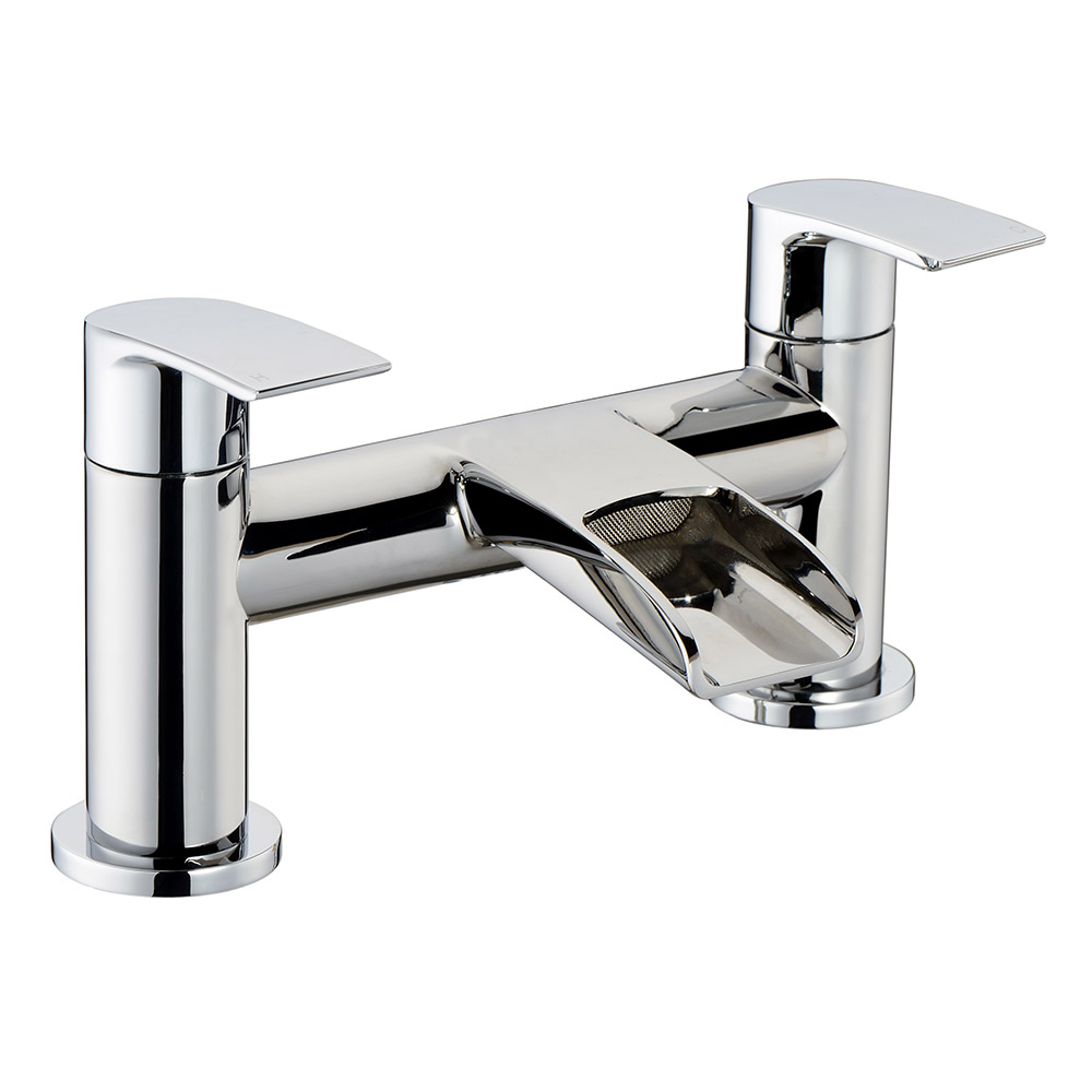 Modern Chrome Bathroom Bath Filler Mixer RRP £80 New